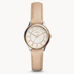 Fossil Modern Sophisticate Damenuhr mit Leder-Armband für 38€(statt 93€)