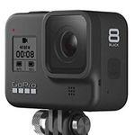 GoPro HERO8 Black + Shorty Stativ + Akku + Speicherkarte + Kopfband für 332,91€ (statt 383€)