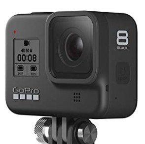 GoPro HERO8 Black + Shorty Stativ + Akku + Speicherkarte + Kopfband ab 289€ (statt 329€)