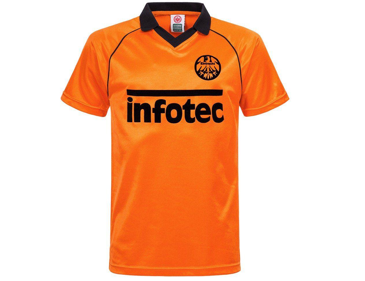 Eintracht Frankfurt Retrotrikot 81 Orange für 29,90€ (statt 50€)