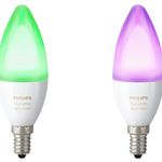 Vorbei! 2er Pack Philips Hue White and Color Ambiance E14 für 43€ (statt 73€)