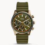 Fossil Sullivan Multifunktion-Uhr mit Silikon Armband für 47€(statt 129€)