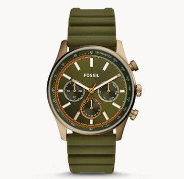 Fossil Sullivan Multifunktion Uhr mit Silikon Armband für 47€(statt 129€)