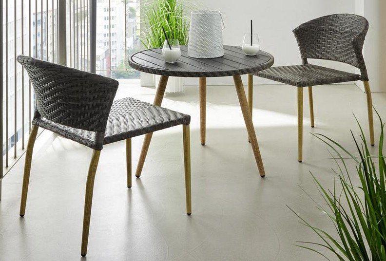 Balkonset Marie mit 2 Stühlen + Tisch für 67€ (statt 169€)