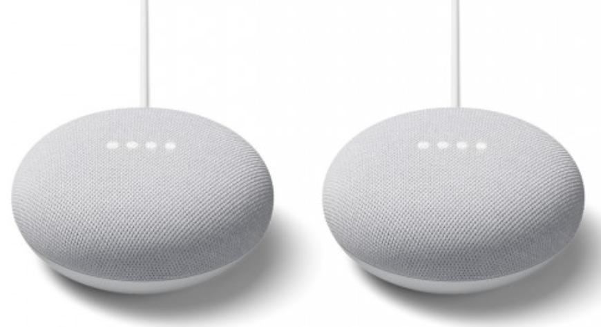2er Pack Google Nest Mini Lautsprecher für 59,95€ (statt 80€)