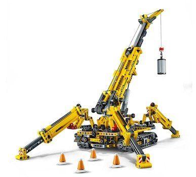 Lego Technic 2 in 1 Spinnen Kran (42097) für 59,99€ (statt 80€)