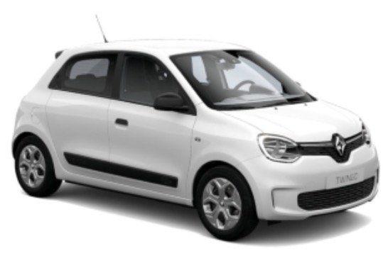 Inzahlungnahme: Renault Twingo LIFE SCe 65 im Privat Leasing über 48 Monate für 58€ mtl. – LF: 0.56