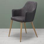 "Armlehnstuhl ""Chrisi"" in Grau für 37,74€ (statt 50€)"
