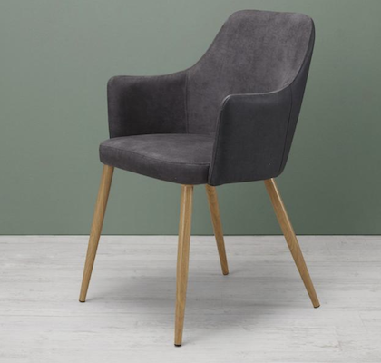 "Armlehnstuhl ""Chrisi"" in Grau für 34,93€ (statt 50€)"