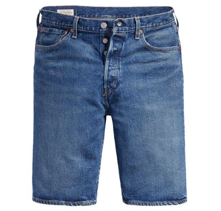 Levis Herren Jeans Short 501 Hemmed für 32,95€ (statt 40€)