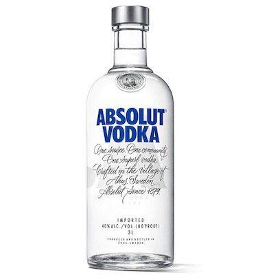 3 Liter Absolut Vodka Original für 49,99€ (statt 63€)