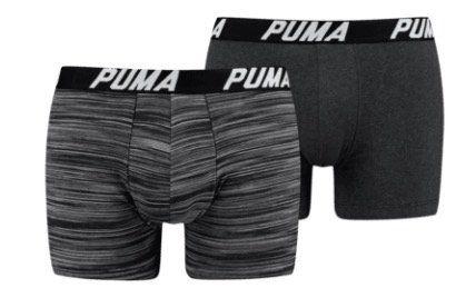 12er Pack Puma Spacedye Stripe Boxershorts für 44,95€ (statt 70€)   oder klassischere Variante 47,45€