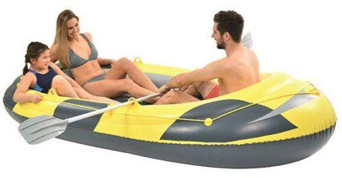 Schlauchboot inkl. 2 Paddel und Tasche für 3 Personen bis max. 260 kg für 35,99€ (statt 44€)