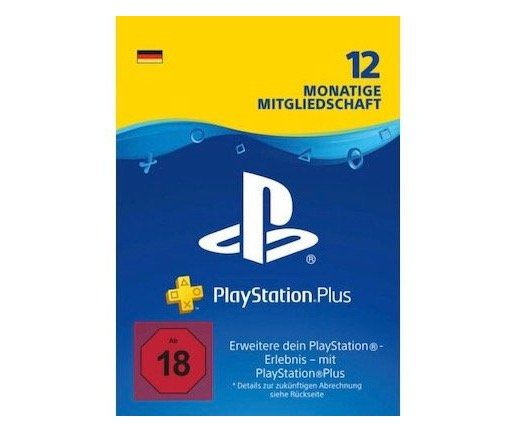 Wieder da: 12 Monate PlayStation Plus ab 44,49€