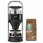 Philips HD 5408/60 Café Gourmet Kaffeemaschine + 200g Starbucks Kaffee für 79,90€