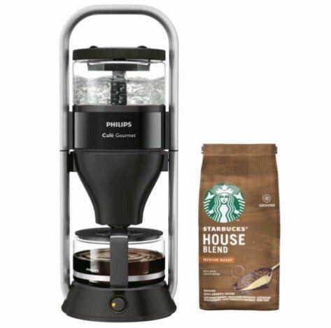 Philips HD 5408/60 Café Gourmet Kaffeemaschine + 200g Starbucks Kaffee ab 69,30€