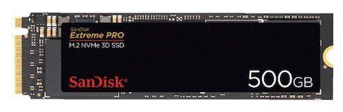 SanDisk Extreme Pro 500GB M.2 SSD für 71,10€(statt 99€)   mit VISA Zahlung