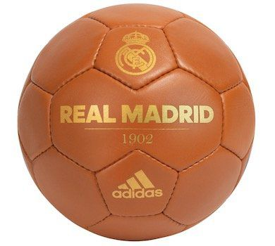 Real Madrid adidas Retro Fußball in Größe 5 für 7,99€ (statt 19€)