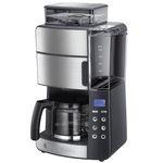 Russell Hobbs Grind & Brew Digitale Glas-Kaffeemaschine mit integriertem Mahlwerk für 87,90€ (statt 135€) – Retourengeräte