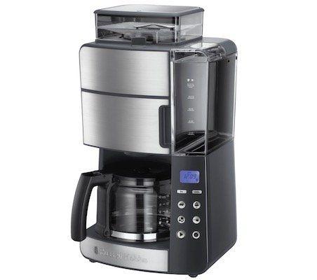 Russell Hobbs Grind & Brew Digitale Glas Kaffeemaschine mit integriertem Mahlwerk für 79,90€ (statt 112€)   Retourengeräte