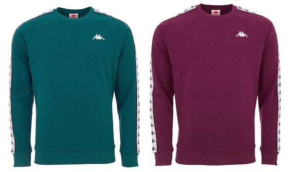 Kappa Authentic Faddei Retro Herren Sweatshirt für 18,99€ (statt 36€)   S, M, L
