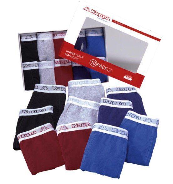 10er Pack Kappa Boxershorts für 39,99€ (statt 49€)   nur 3,99€ pro Boxershort + Fernglas gratis