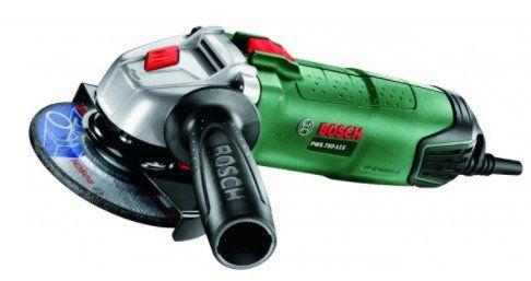 Ausverkauft! Bosch PWS 750 115 Winkelschleifer für 32,90€ (statt 49€)