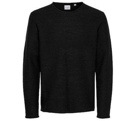 ONLY & SONS einfarbiger Baumwoll Strickpullover für 16,14€ (statt 30€)