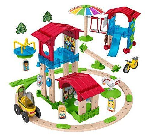 Fisher Price Wunder Werker Schule mit Spielplatz aus FSC zertifiziertem Holz ab 19,79€ (statt 33€)