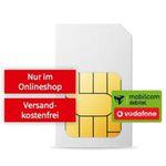 🔥 Vodafone Allnet-Flatrate mit 18GB LTE für 18€ mtl. + 25€ MediaMarkt Coupon + eSIM möglich