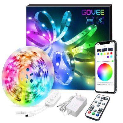 5m Govee RGB LED Streifen mit App Steuerung für 16,79€ (statt 24€)