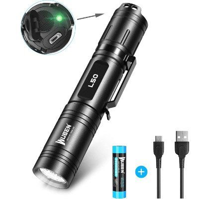 Wuben L50 – 1200 Lumen Mini LED Taschenlampe mit bis zu 200m Reichweite für 17,84€ (statt 26€)