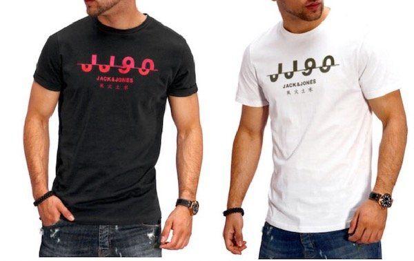 Jack & Jones JJ90 Herren Kurzarm Rundhals T Shirt für 10,99€ (statt 15€)