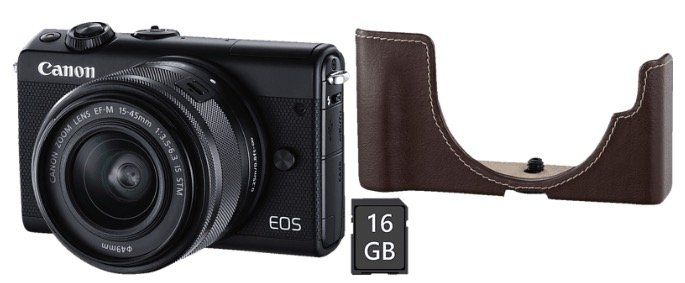 Canon EOS M100 mit 15 45mm Objectiv ab 289€ (statt 332€)