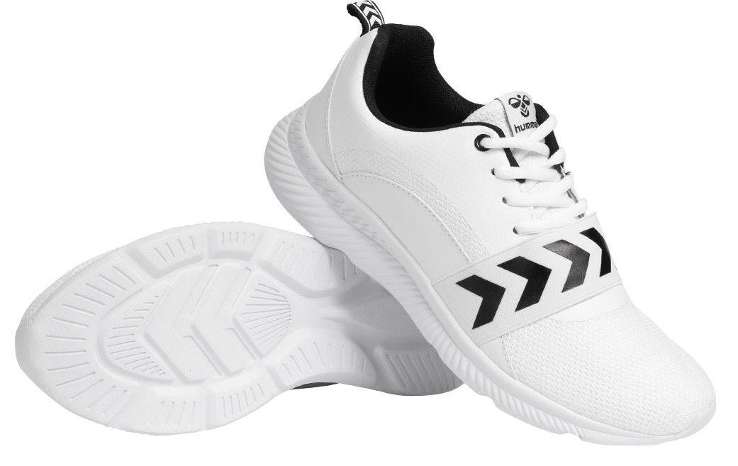 hummel LUTZ Sneaker in Weiß für 16€(statt 32€)   nur 36 bis 42