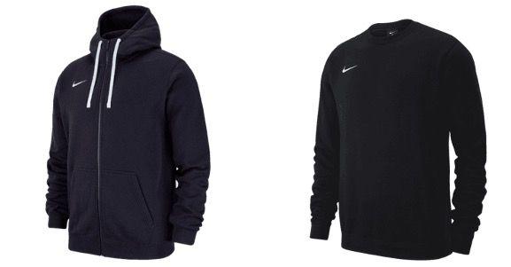 Nike Team Club 19 Fleece Kapuzenjacke und Fleece Sweater für 49,95€ (statt 61€)