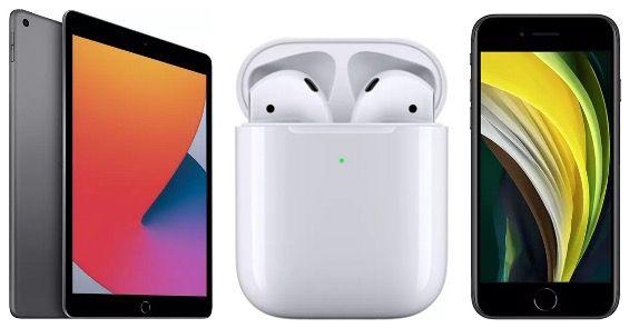 MediaMarkt Apple Week   z.B. AirPods 2. Gen mit Ladecase für 116,71€ (statt 128€)