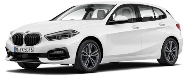 Privat & Gewerbe: BMW 118i Sport Line mit 136PS in Alpinweiß für 199€ mtl.   LF: 0,69