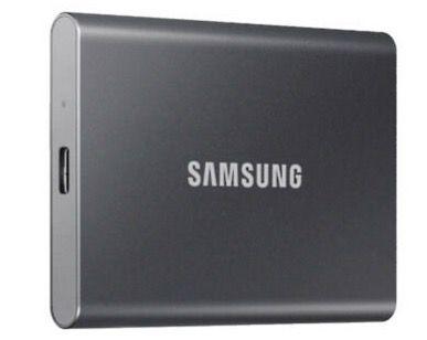 Samsung T7 Portable SSD mit 500GB in Grau ab 69,99€ (statt 94€)