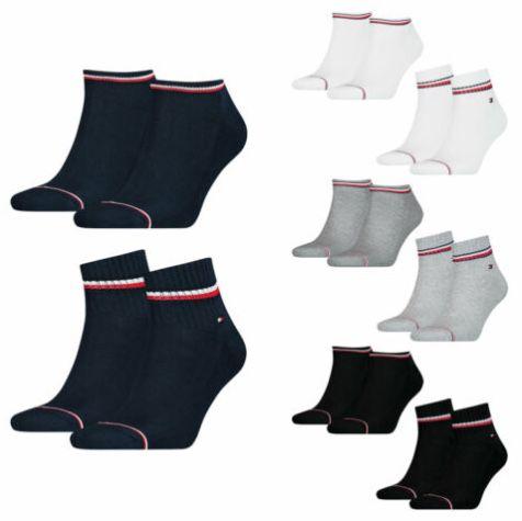 8er Pack Tommy Hilfiger Iconic Herren Sneaker Sportsocken für 29,99€ (statt 40€)