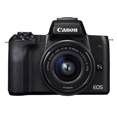 CANON EOS M50 Systemkamera 24.1 MP als Kit mit 15-45mm Objektiv ab 434€ (statt 594€)