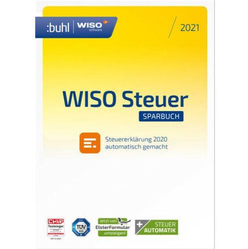 WISO steuer:Sparbuch 2021 (für Steuerjahr 2020) für 18,59€ (statt 22€)