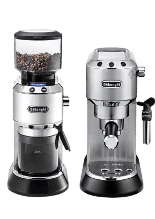 DeLonghi EC 685 Barista Bundle mit Espressomaschine, Kaffeemühle und Tamper ab 284,11€ (statt 315€)