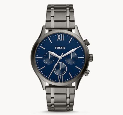 Fossil Fenmore Herren Multifunktions Edelstahl Uhr für 56€ (statt 193€)