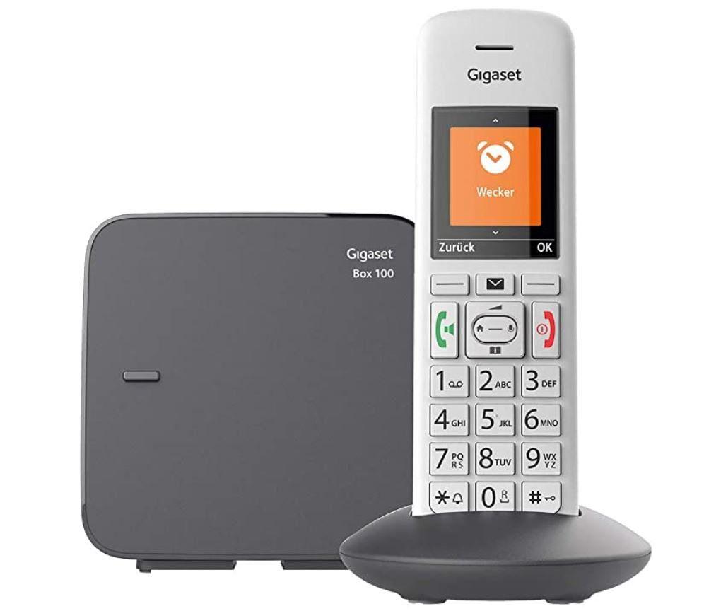 Gigaset E370 schnurloses Senioren Haustelefon für 29,99€ (statt 40€)