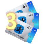 MakakaOnTheRun RFID NFC Scheckkarten Schutzhüllen 3er Pack für 6,98€ (statt 10€)