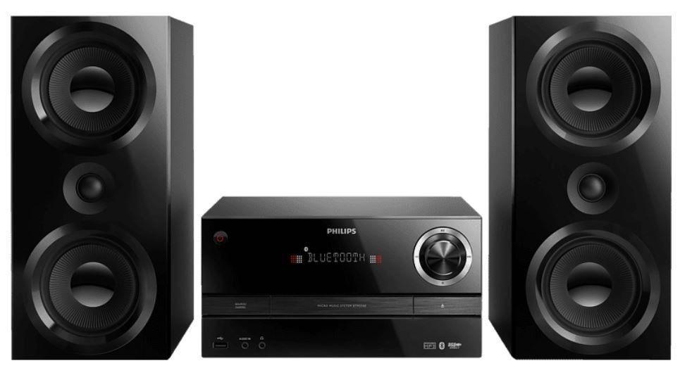 PHILIPS BTM3360   150W Mini Stereoanlage für 139€ (statt 218€)