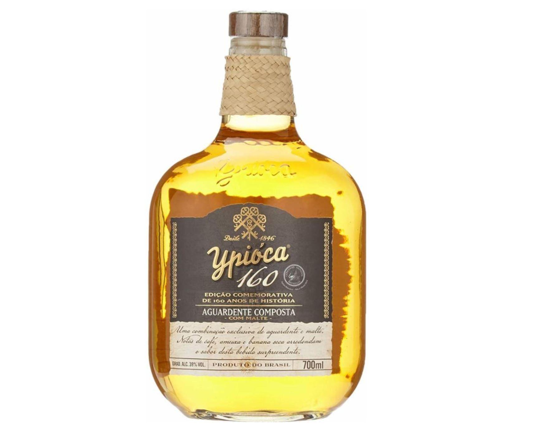 Vorbei! Ypioca 160 Com Malte Cachaca Rum 0,7l Flasche für 45,99€ (statt 58€)