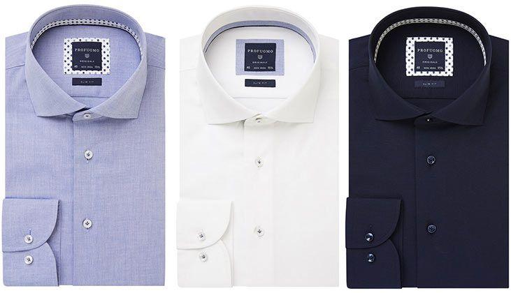 Profuomo Herrenhemd in vielen Farben mit extra langen oder normalen Ärmel für je 40,90€ (statt 70€)