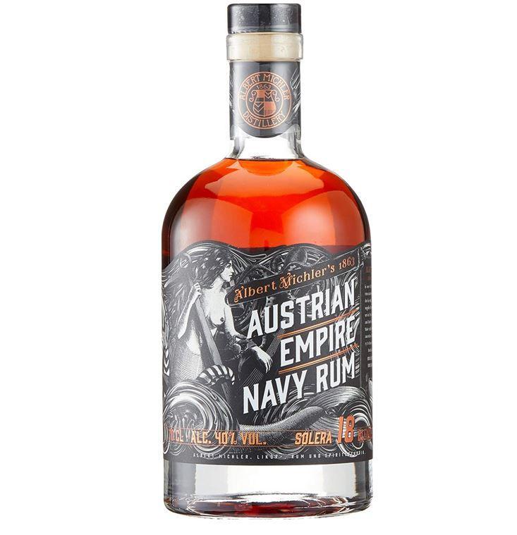 Albert Michler Austrian Empire Navy Rum Solera 0,7 Flasche für 35,99€ (statt 45€)